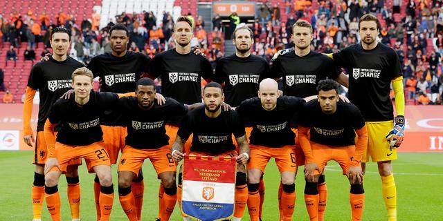 Oranje zakt twee plaatsen op FIFA-ranking na eerste WK-kwalificatieduels