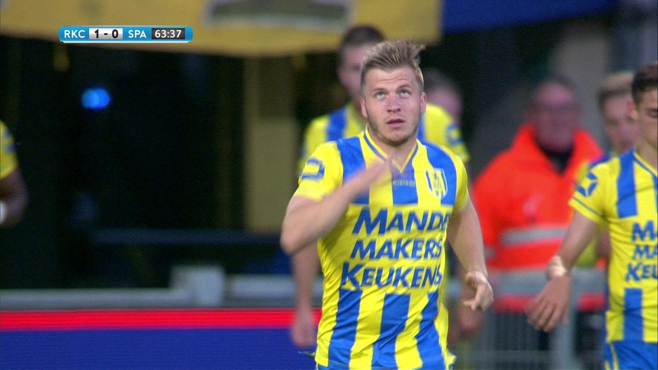 Samenvatting RKC Waalwijk – Sparta (1-0)