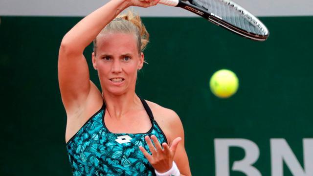 Hogenkamp zegt dat ze net een beetje geloof miste tegen Sharapova