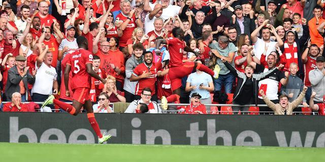 Liverpool loopt mede dankzij honderdste treffer Mané uit op Manchester City