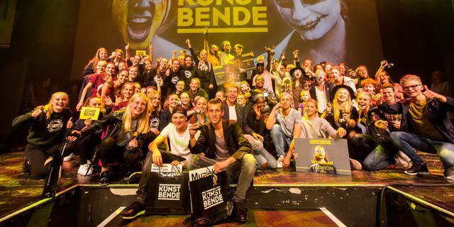120 Zeeuwse jongeren op podium voor Kunstbende