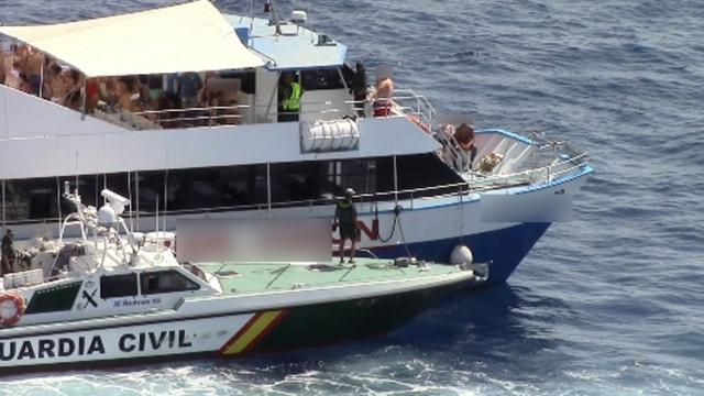 Spaanse politie treedt op tegen 'feestboten' rond Ibiza en Mallorca