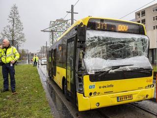 Ongeval veroorzaakt oponthoud Heidelberglaan