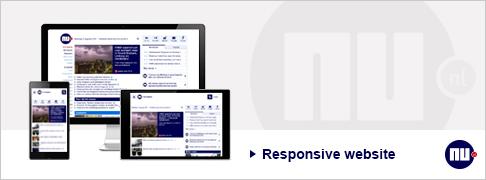 NU.nl responsive website