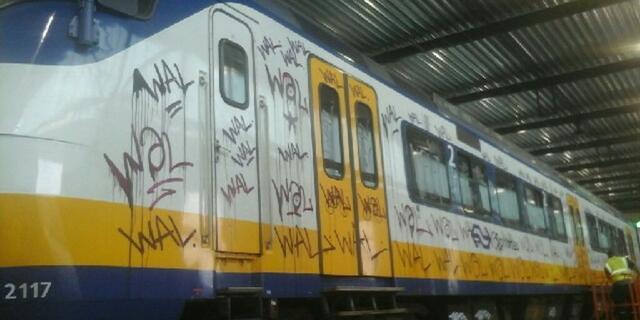 Graffitispuiters in Haarlem aangehouden ondanks ontsnappingspoging
