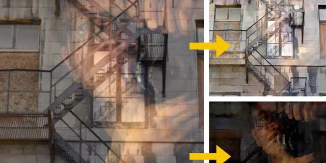 Wetenschappers verwijderen ongewilde reflectie automatisch uit foto's
