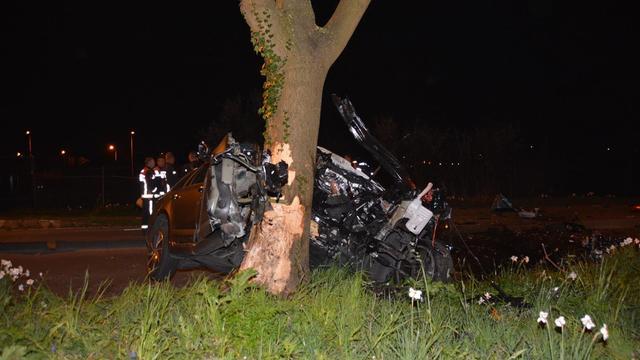 Automobilist in ziekenhuis na eenzijdig ongeluk
