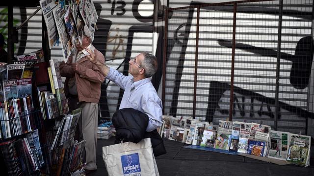 Staking Griekse journalisten verlengd tot woensdag