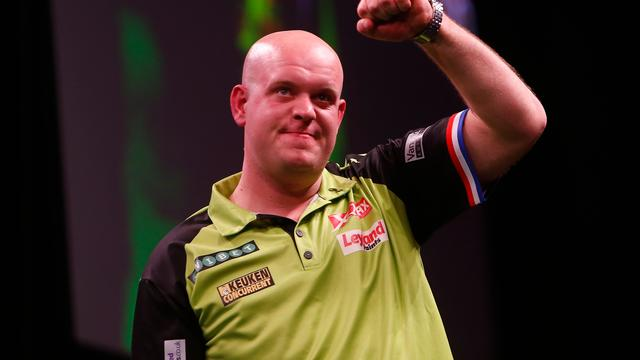 Van Gerwen tevreden na veiligstellen play-offticket in Premier League