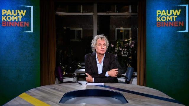 Jeroen Pauw begint op 8 november met nieuwe talkshow Pauw komt Binnen