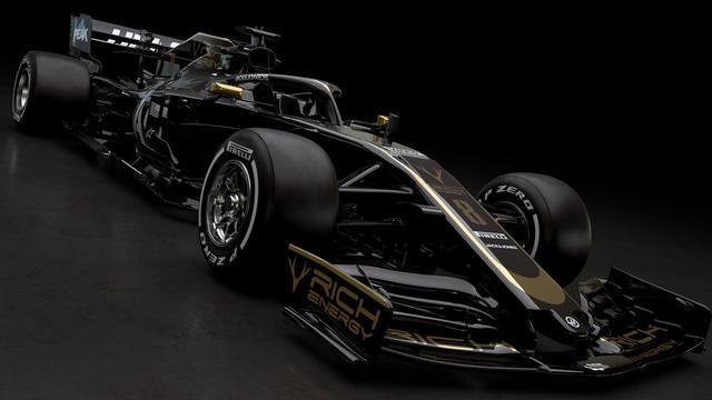 Haas onthult als eerste nieuwe F1 bolide voor komend seizoen