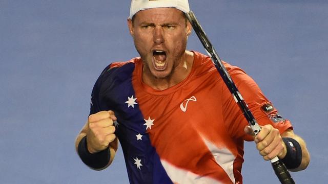 Hewitt verlengt afscheidstournee dankzij zege op Australian Open