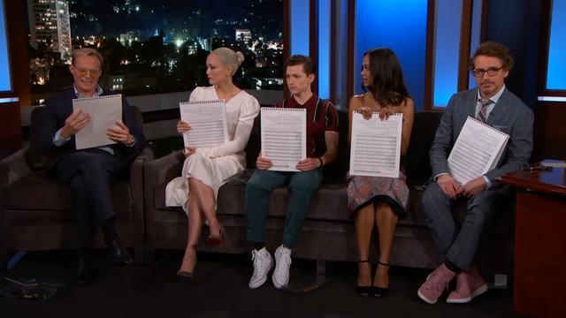 Acteurs 'Avengers: Infinity War' tekenen eigen personage