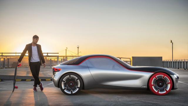 Opel GT Concept niet levensvatbaar