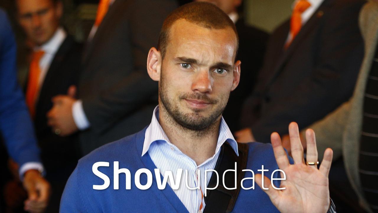 Show Update: Wesley Sneijder voelt zich 'een echte Turk'