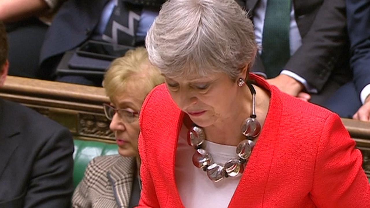 Grote meerderheid stemt tegen Brexit-deal in Lagerhuis