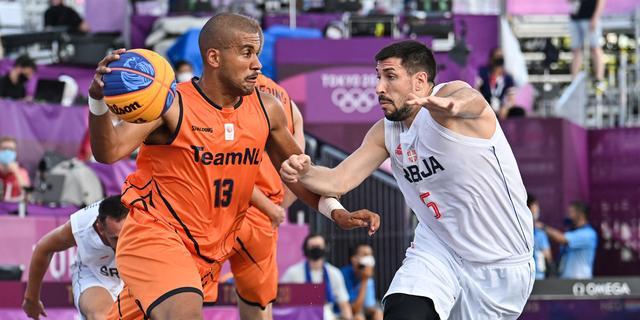 3x3-basketballers nemen revanche voor verlies tegen grootmacht Servië