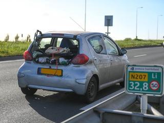 Beide auto's zijn beschadigd