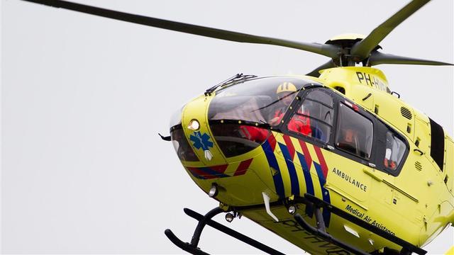 Man per traumahelikopter naar ziekenhuis na val op stuitje in Koudekerke