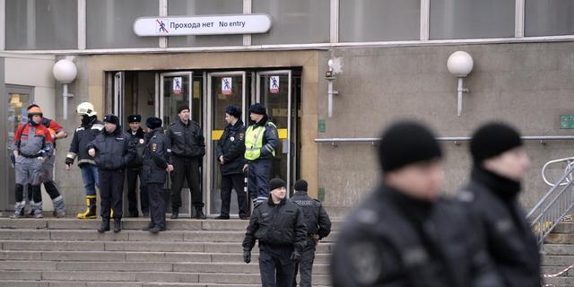 Rusland pakt verdachten aanslag Sint-Petersburg op