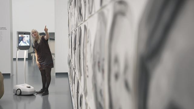 Robot maakt bezoek aan Eindhovens museum mogelijk