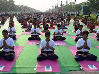 Sessie is voorbereiding op Internationale Yogadag