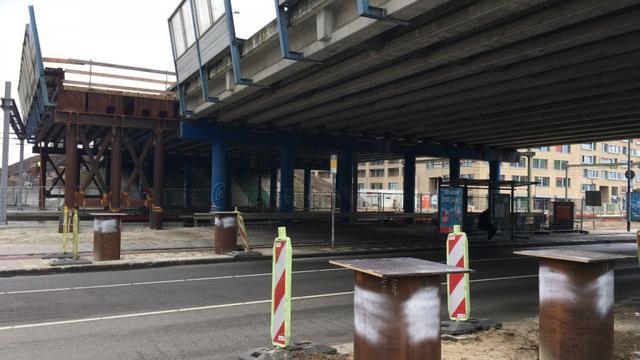 Herepoort begint maandag met sloop van viaduct bij Esperantokruising