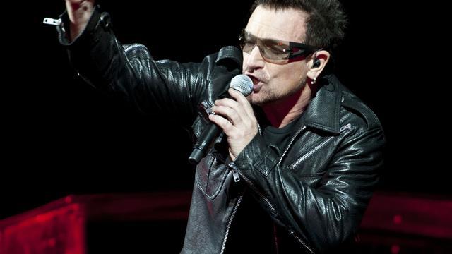 Bono schreef nummers nieuw U2-album met sterfelijkheid in achterhoofd