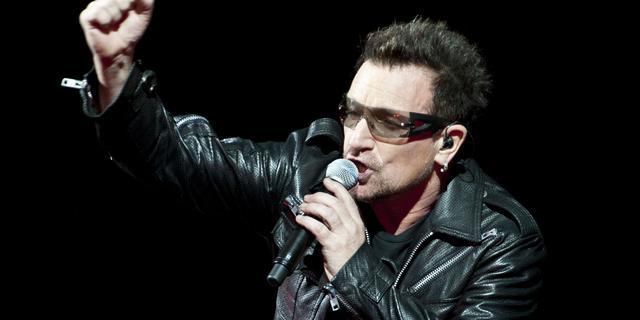 Tournee U2 kan verder na herstellen stem Bono