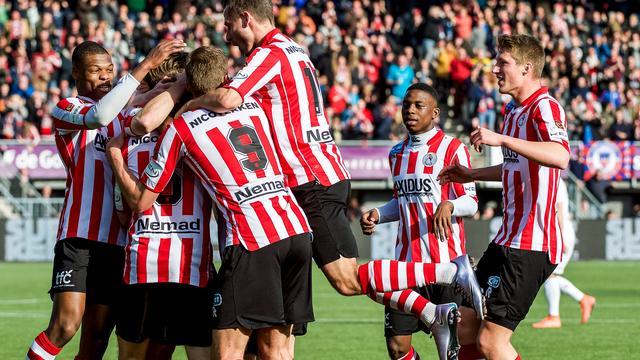 Sparta kan derde club worden met titel in Eredivisie en Eerste Divisie