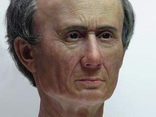 Buste gemaakt door antropoloog maakt Caesar minder heroïsch