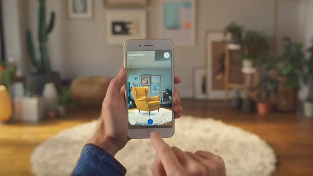IKEA brengt iOS-app uit om meubels in augmented reality te bekijken