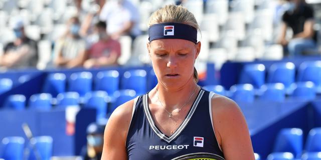 Bertens maakt volgende week na maanden afwezigheid haar rentree in Doha