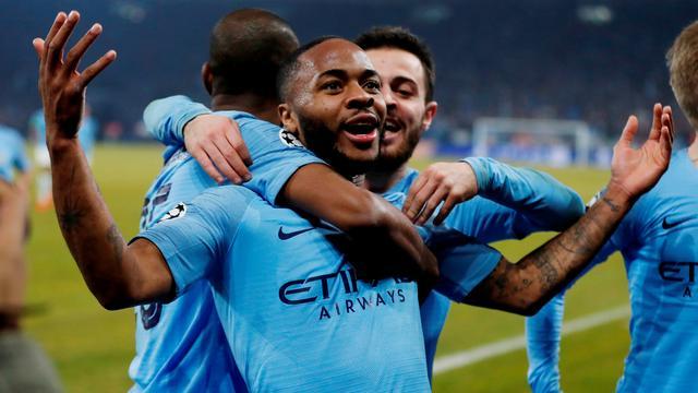 Tiental Manchester City op valreep langs Schalke bij spektakelstuk in CL