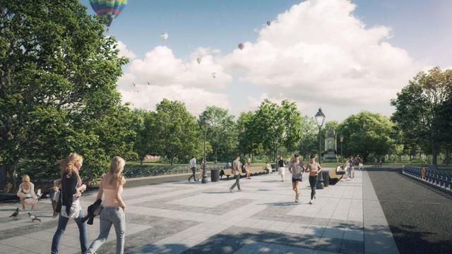 Park Valkenberg uitgebreid richting Sophiastraat