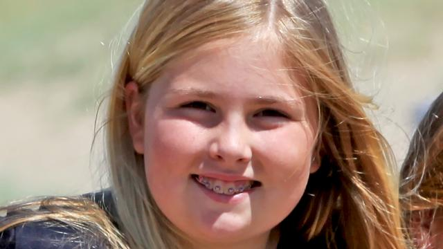 Prinses Amalia Viert Twaalfde Verjaardag Nu Het Laatste Nieuws