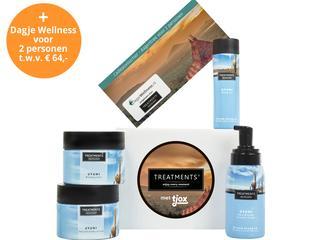 Met deze box vol fijne TREATMENTS® producten maak je van je badkamer een oosterse thuisspa