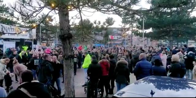 Politie greep bewust niet in bij zogenaamde demonstratie in Duindorp