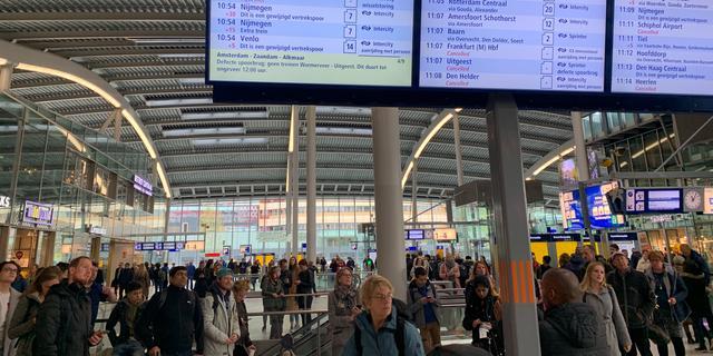 Geen treinen van Utrecht naar Nijmegen en Veenendaal door seinstoringen