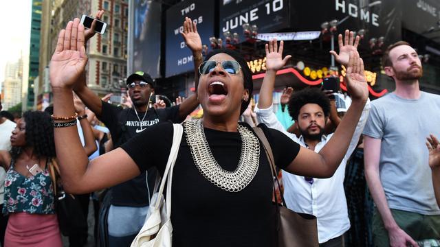 Betoging in Minneapolis tegen politiegeweld uiteengedreven
