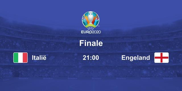 Lees alles over de EK-finale van vanavond