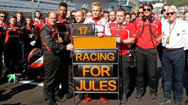 Formule 1-wereld reageert met verslagenheid op overlijden Bianchi