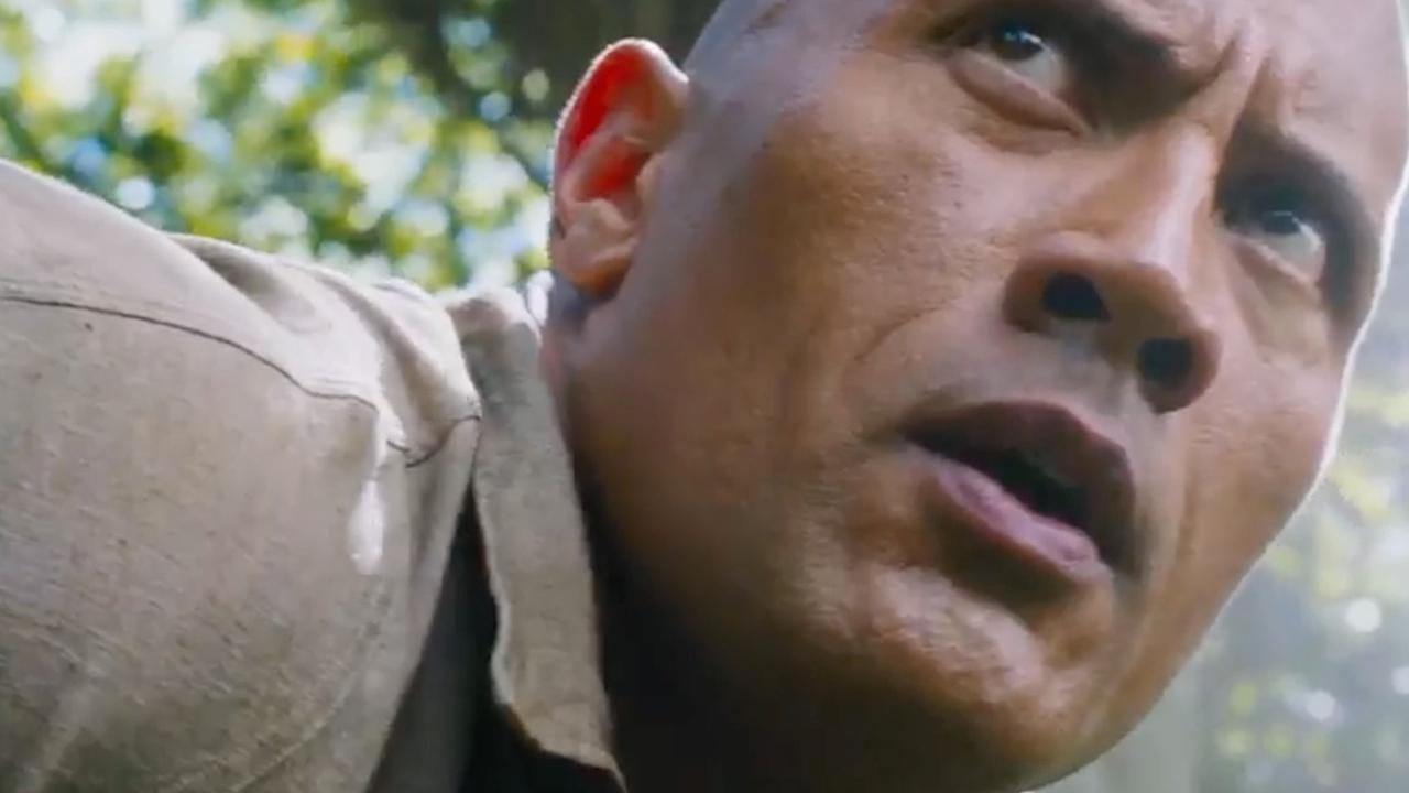 The Rock speelt nerd die actieheld wordt in trailer Jumanji