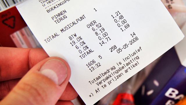 Nederlandse Staat krijgt meer btw-inkomsten binnen