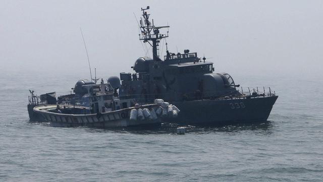 Noord-Korea dreigt zuiden met aanval op schepen