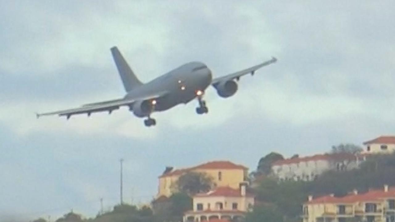 Duits legervliegtuig landt op Madeira voor evacuatie na busongeval
