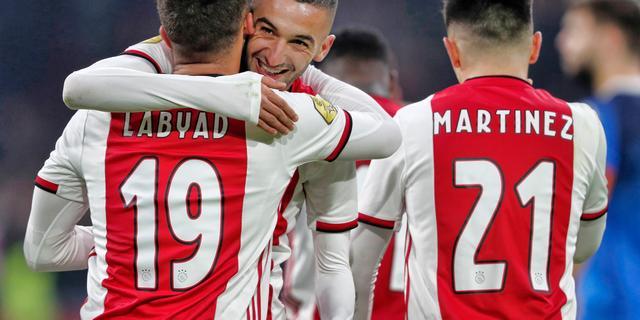 Koploper Ajax boekt tegen Heracles achtste zege op rij in Eredivisie