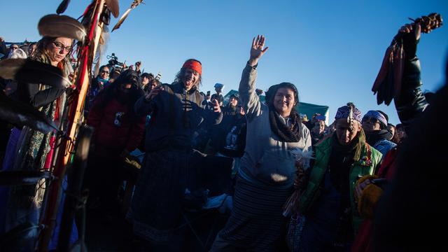 Omstreden pijplijn North Dakota mag niet door indianengebied lopen