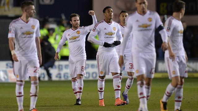 Manchester United eenvoudig naar kwartfinales FA Cup