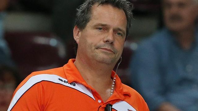 Volleyballers blijven na verlies in B-groep